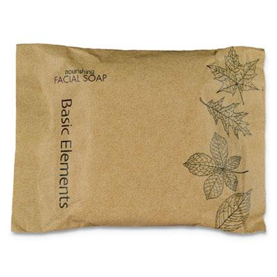 Facial Soap Bar, Clean Scent, 0.71 oz Box, 500/Carton
