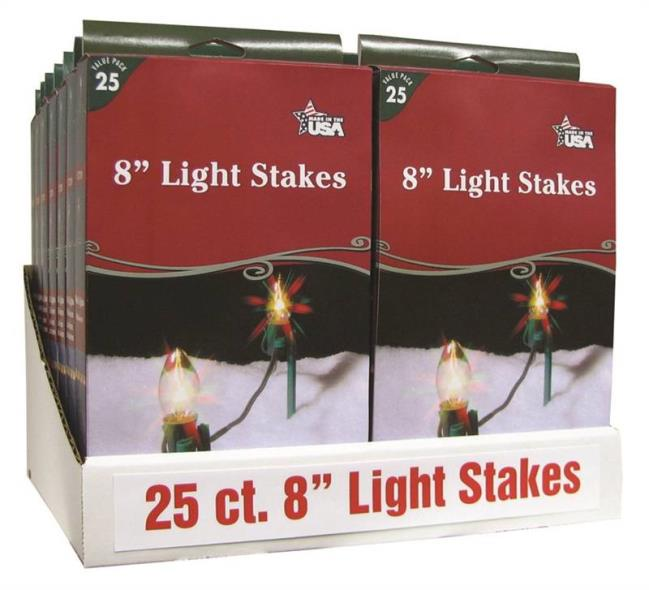 LIGHT STAKES BOXED 25CT