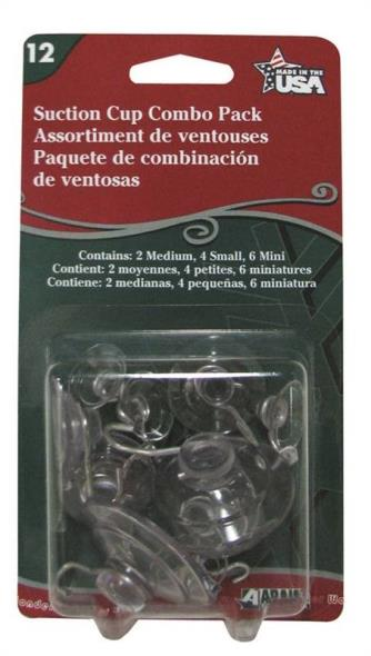 SUCTION CUPS COMBO 12CT