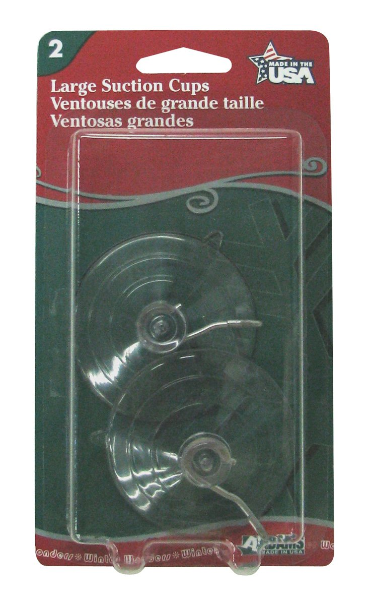Adams 6000-74-1043 Suction Cups, Large, 2 Count