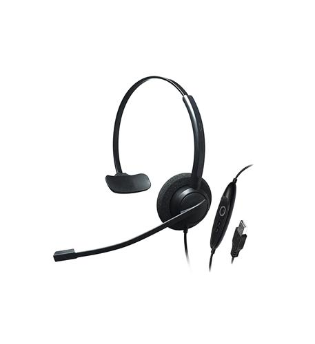 Single Ear- Noise Cancelling USB Headset