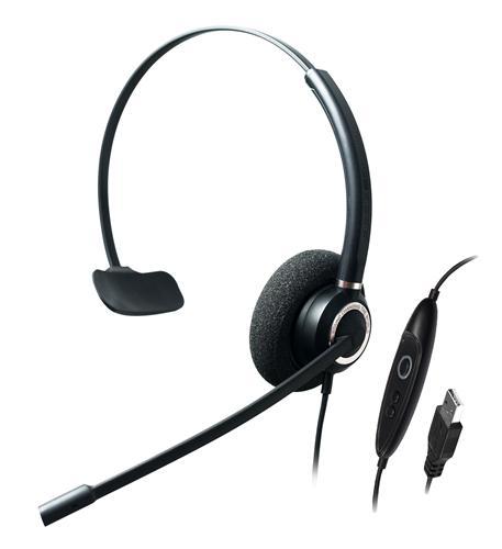 Single Ear-Advanced Noise Cancelling USB