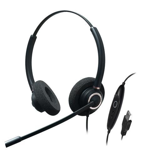 Dual Ear-Stereo-Adv Noise Cancel USB
