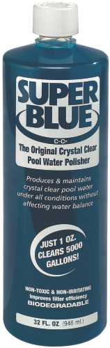 ROBARB� SUPER BLUE� POOL WATER CLARIFIER, 64 OZ.