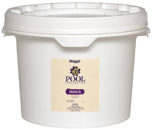ROBARB� POOL SPECIALTIES ALKALINITY UP, 25-LB. PAIL