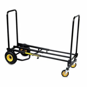 Multi-Cart 8-in-1 Cart, 500lb Capacity, 32 1/2 x 17 1/2 x 42 1/2, Black