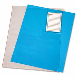 File Folder w/Pocket, Polypropylene, Letter-Size, Transparent