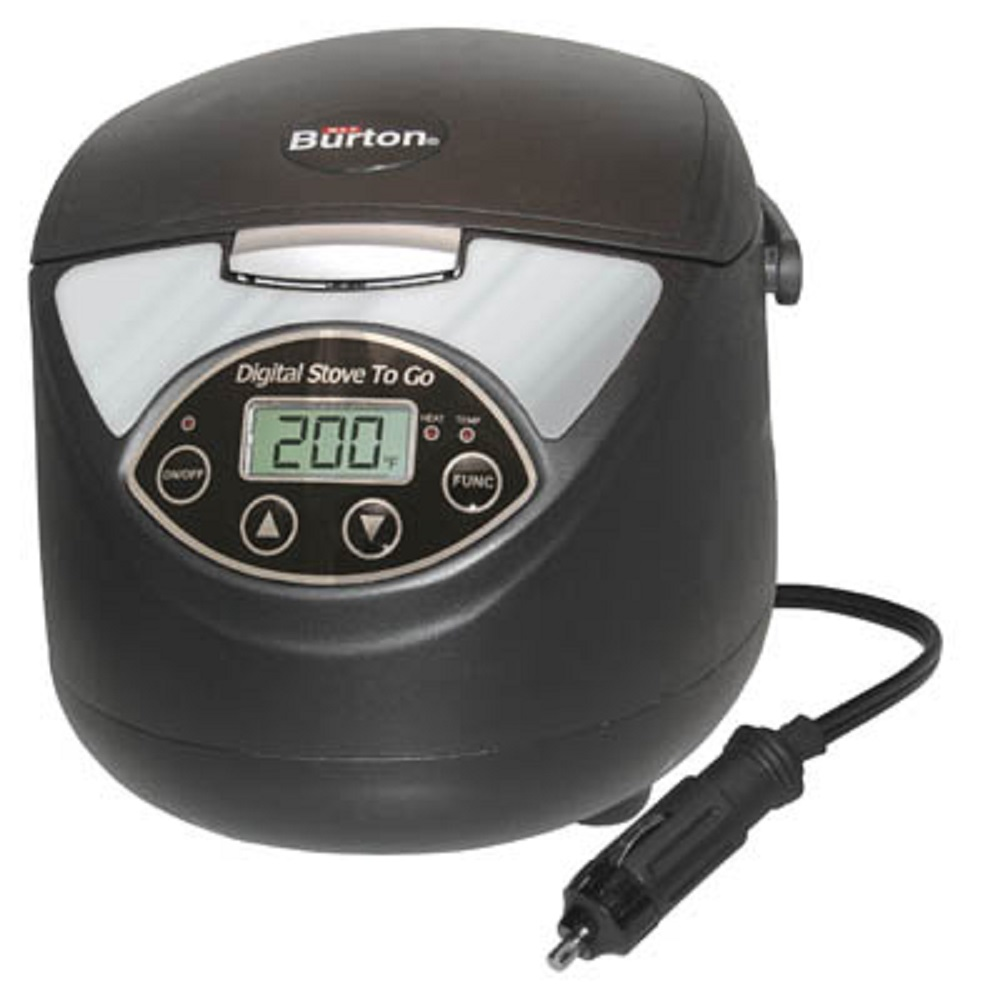MAX BURTON 6905 DIGITAL STOVE TO GO 12 VOLT PORTABLE 1.5LITER