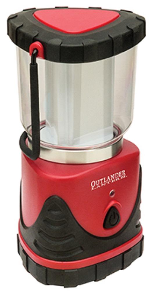 OUTLANDER 7440 RED AND BLACK LED LANTERN WEATHERPROOF