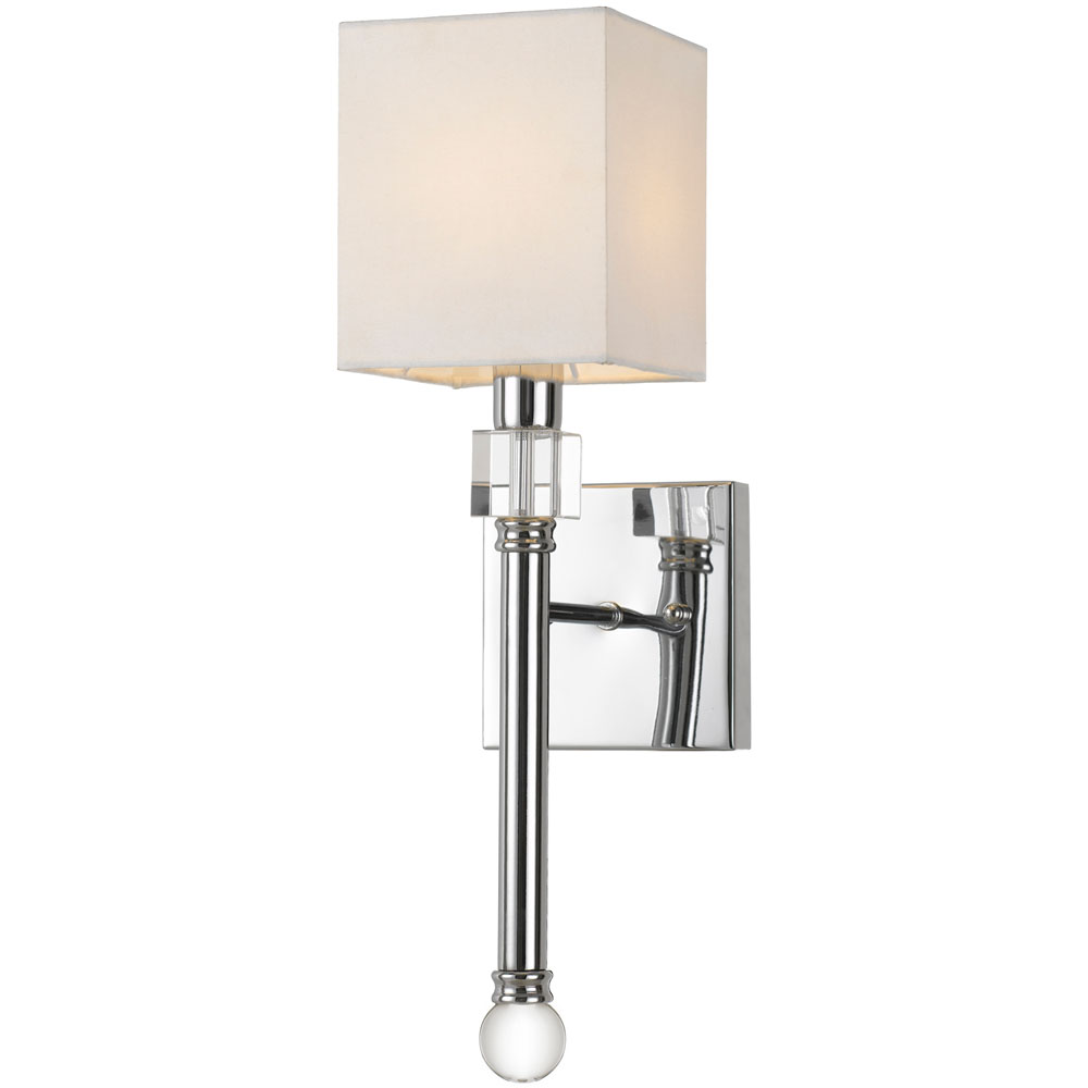 """Sheridan 1-Light Wall Sconce, 5""""W x 18.5""""H x 7""""E, Hardwire Only"""