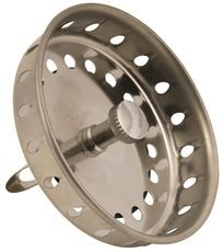 BASKET STRAINER WITH SPRING CLOSURE, STAINLESS STEEL, PACK OF 5