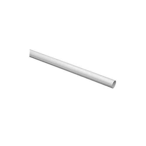 SHOWER ROD COVER, 60 IN., WHITE, PACK OF 12