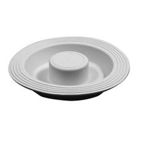 FITS-ALL GARBAGE DISPOSAL STOPPER, 4 IN. DIAMETER, WHITE, PACK OF 6