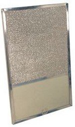 ALUMINUM RANGE HOOD FILTER WITH LIGHT LENS, 10-1/2X10-1/2X3/8 IN. FITS SWANSON�