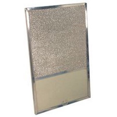 ALUMINUM RANGE HOOD FILTER WITH LIGHT LENS, 10-13/16X11-3/16X1/2 IN. FITS UNIVERSAL�/AIR-O-HOOD�