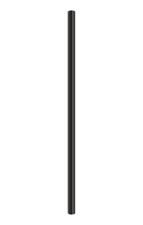 METAL LAMP POST, BLACK, 7 FT.