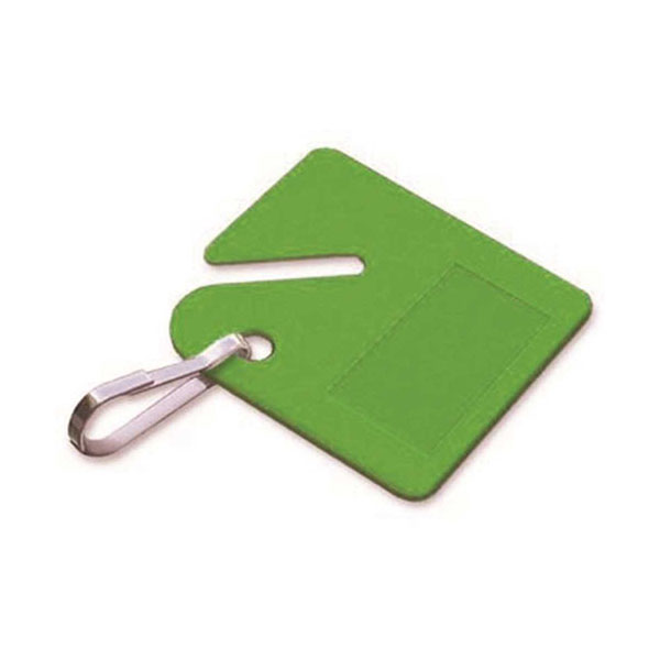 LUCKY LINE KEY CABINET TAG GREEN
