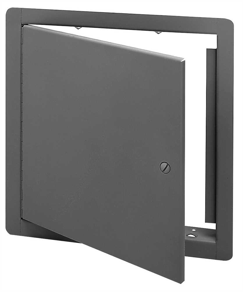 STEEL ACCESS PANEL 12 IN.  X 12 IN.