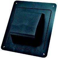 Air King RCB810 Roof Cap, For Use with 3 - 4 in Round Ducting, Plastic
