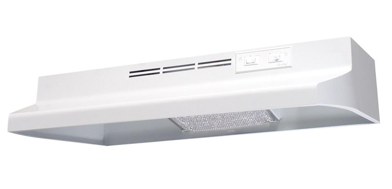 30In Range Hood 160 CFM White