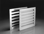 14X24 INCHES WHITE GABLE VENTILATORS