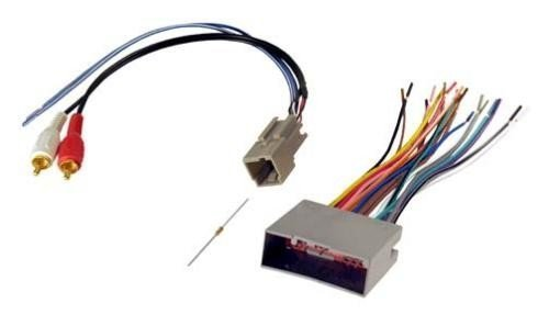 WIRING HARNESS '03-'12 FORD AMP INTEGRATION W/RCA IN