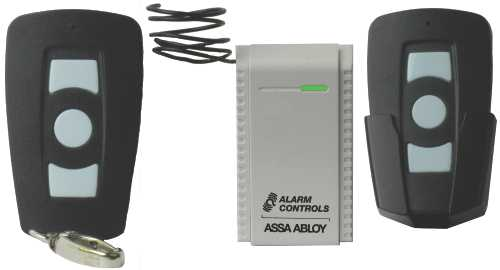 ALARM CONTROLS� RECEIVER / TRANSMITTER KIT, 12 TO 24 VAC OR VDC