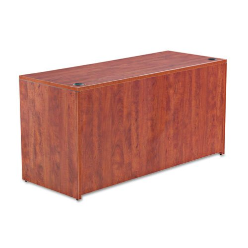 Alera Valencia Series Credenza Shell, 59 1/8w x 23 5/8d x 29 5/8h, Medium Cherry