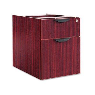 Alera Valencia Series 3/4 Box/File Pedestal,15 5/8w x 20 1/2d x 19 1/4h,Mahogany