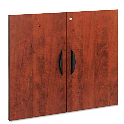 """Alera Valencia Series Cabinet Door Kit For All Bookcases, 31 1/4"""" Wide, Cherry"""