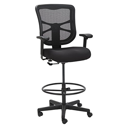 Alera Elusion Series Mesh Stool, Black