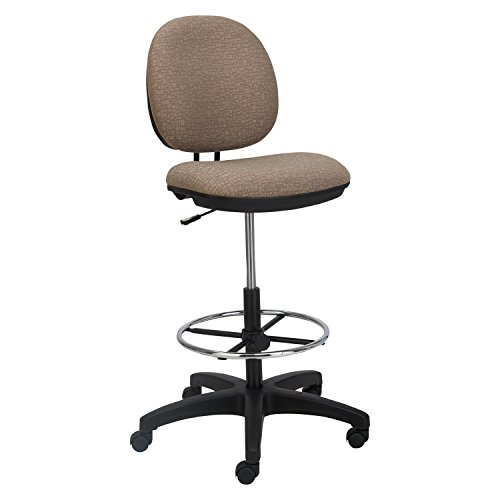 Alera Interval Series Swivel Task Stool, Sandstone Tan