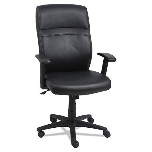 High-Back Swivel/Tilt Chair, Black/Black