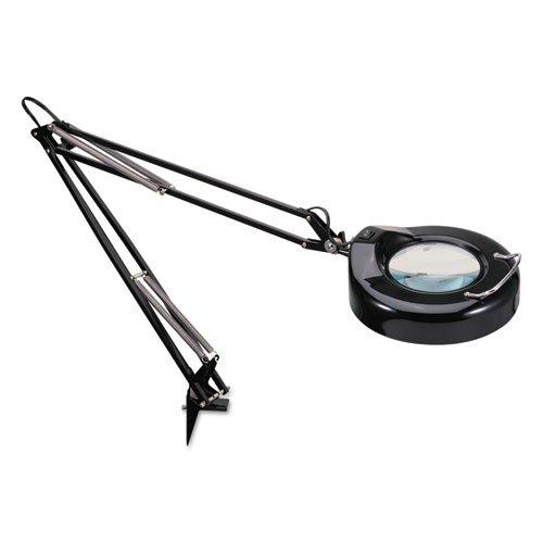 "Full Spectrum Clamp-On Magnifier, Adjustable, 36"" High, Black"