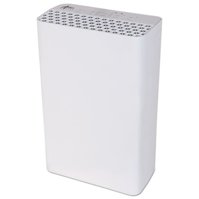 3-Speed HEPA Air Purifier, 215 sq ft Room Capacity, White