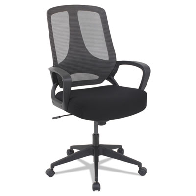 MB Series Mesh Mid-Back Office Chair, Black