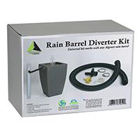 Algreen 81052 Rain Barrel Diverter Kit, Plastic