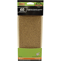 ALUM OX 1/3 SHEET 60GRIT 6PK