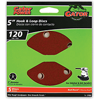 Gator 3783 Sanding Disc, 5 in, 120 Grit