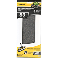 SANDPAPER DRYWALL 4.5X10.25 80