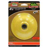 Gator 3873 Quick Change Premium Backing Pad, 4-1/2 in Dia, 13000 rpm