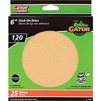 3243 25PK 6 IN. 120G SAND DISC