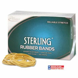 Sterling Rubber Bands Rubber Bands, 33, 3 1/2 x 1/8, 850 Bands/1lb Box