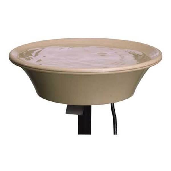 14 in. Bird Bath Deck/Pole Heated