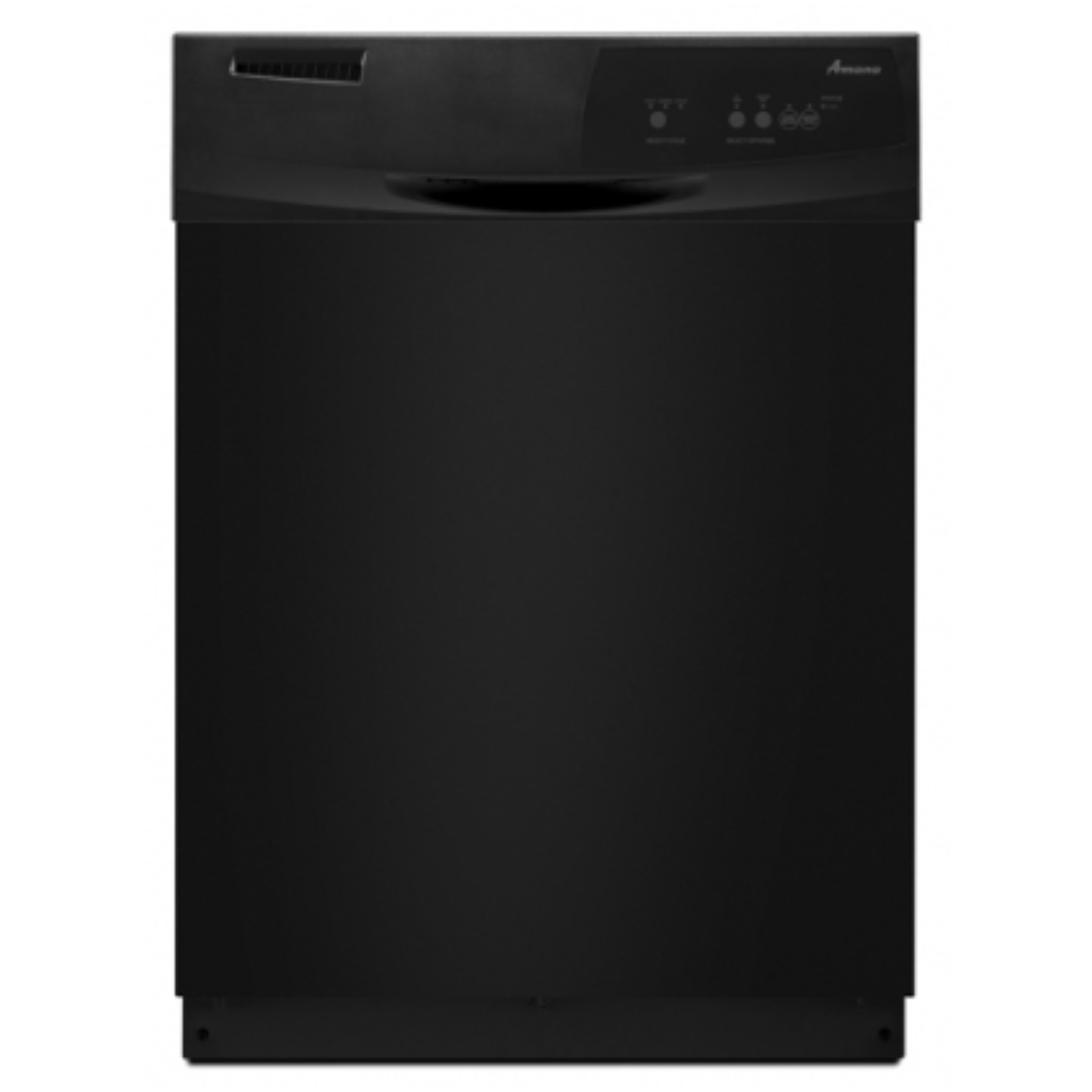 "AMANA� BUILT-IN 24"" TALL TUB DISHWASHER, BLACK, 3 CYCLES"
