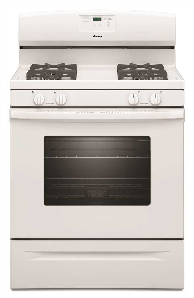 5.0 cu. ft. Free-Standing Gas Oven Range with Easy Touch Electronic Controls, White