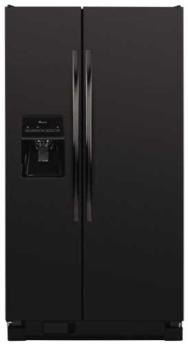 AMANA� ENERGY STAR� 25.4 CU. FT. SIDE-BY-SIDE REFRIGERATOR, BLACK