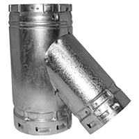 WYE REDUCTION VENT GAS 4X3