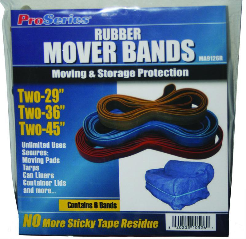 MA9126R RUBBER MOVER BANDS