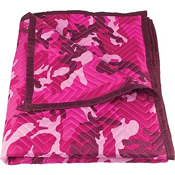 FP2081-E 72X80 IN. PINK CAMO PAD